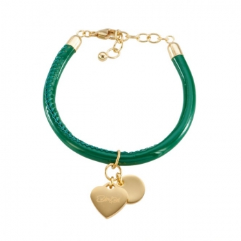 CANNOCK green/goldplated Heart