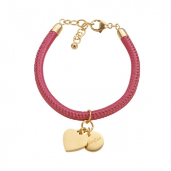 CANNOCK pink/goldplated Heart