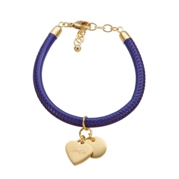 CANNOCK purple/goldplated Heart