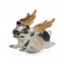 Redbalifrog - When pigs fly - LIMITED EDITION with golden wings!