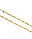 Necklace gold plated 70cm